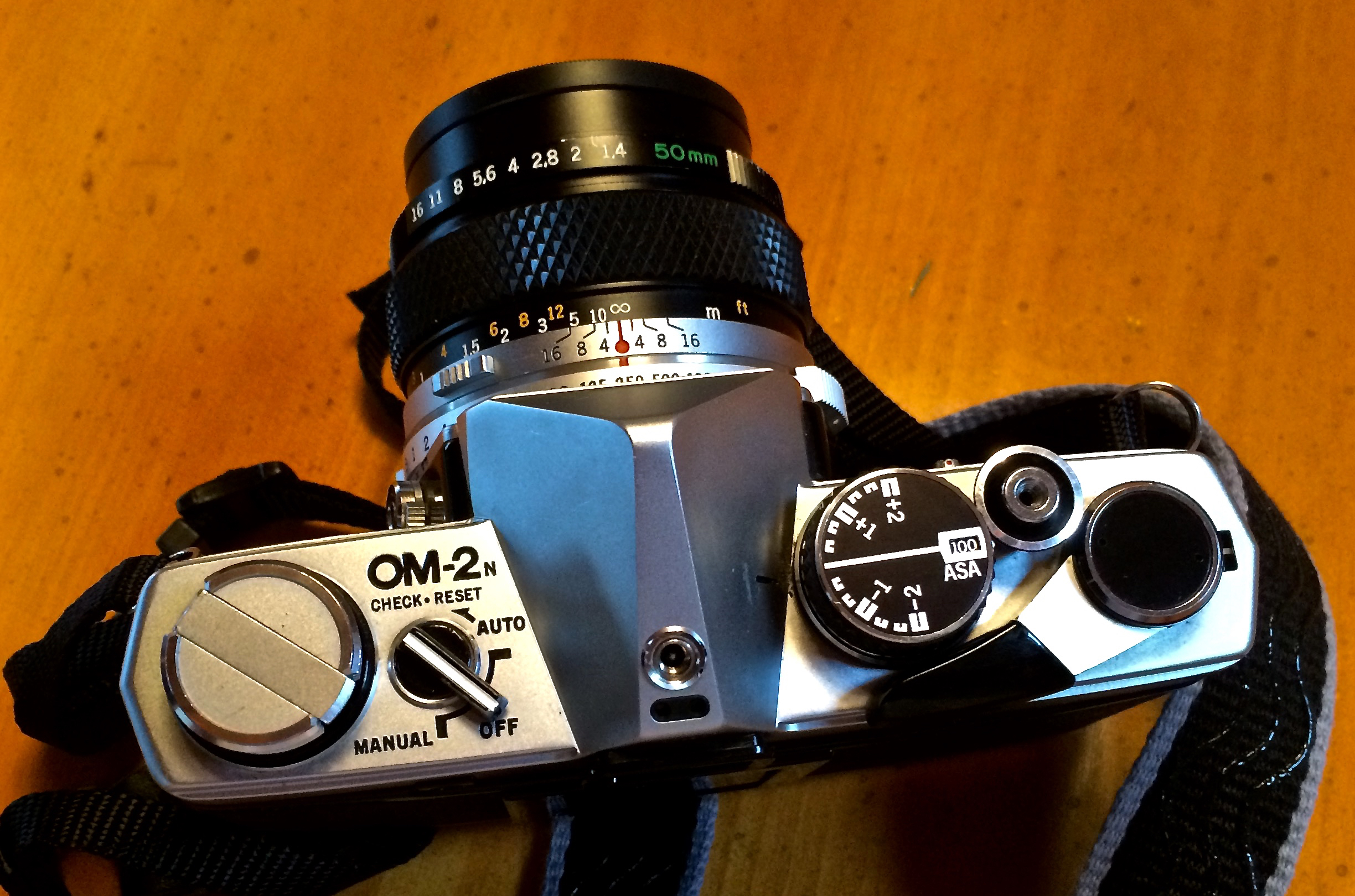Top view of the OM2n