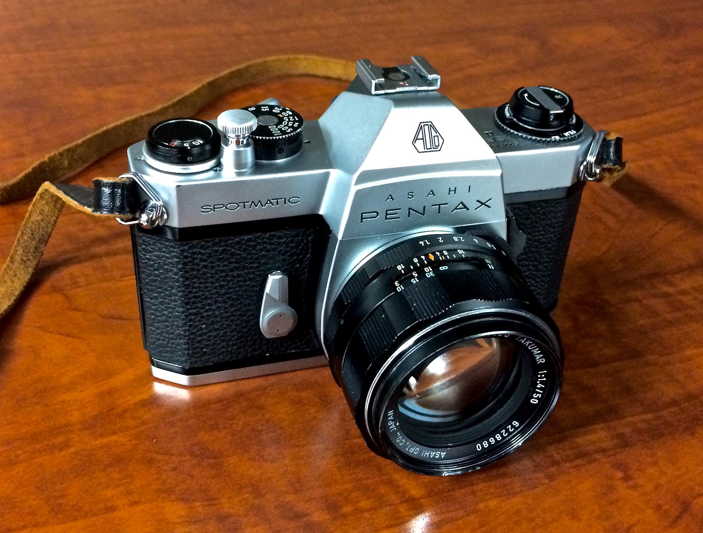 Pentax Spotmatic SPII with 50mm f/1.4 Super Multi-Coated Takumar