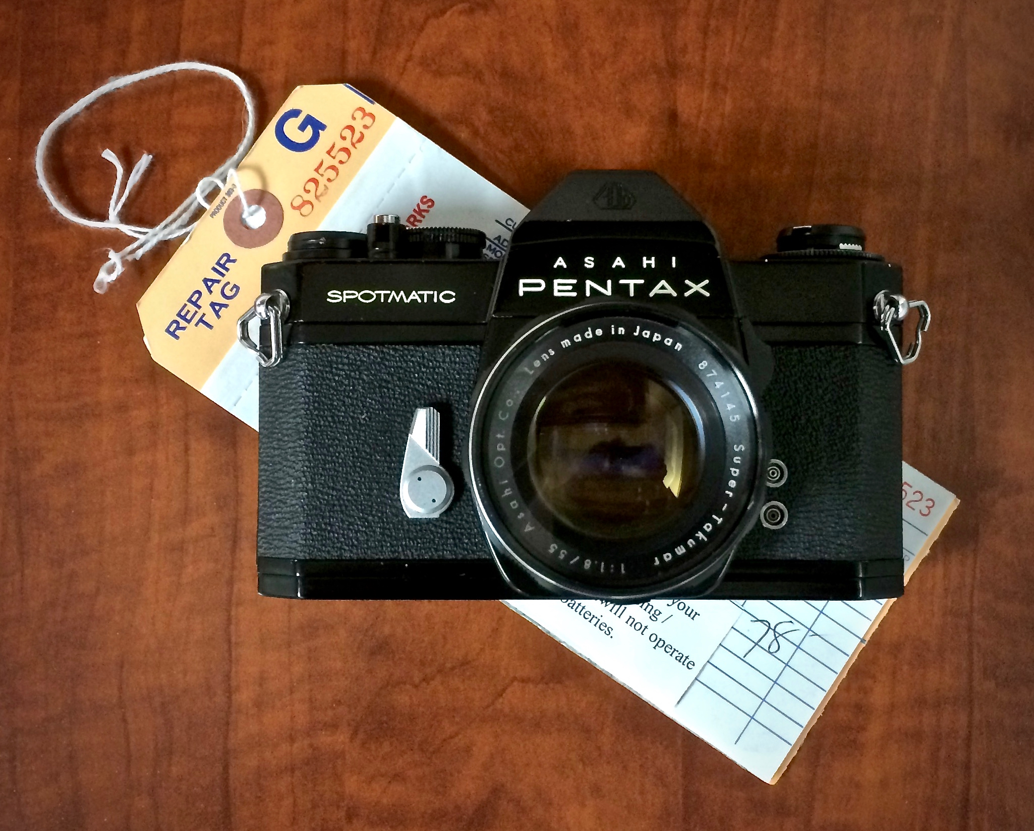 Pentax Spotmatic SPII fresh from the shop