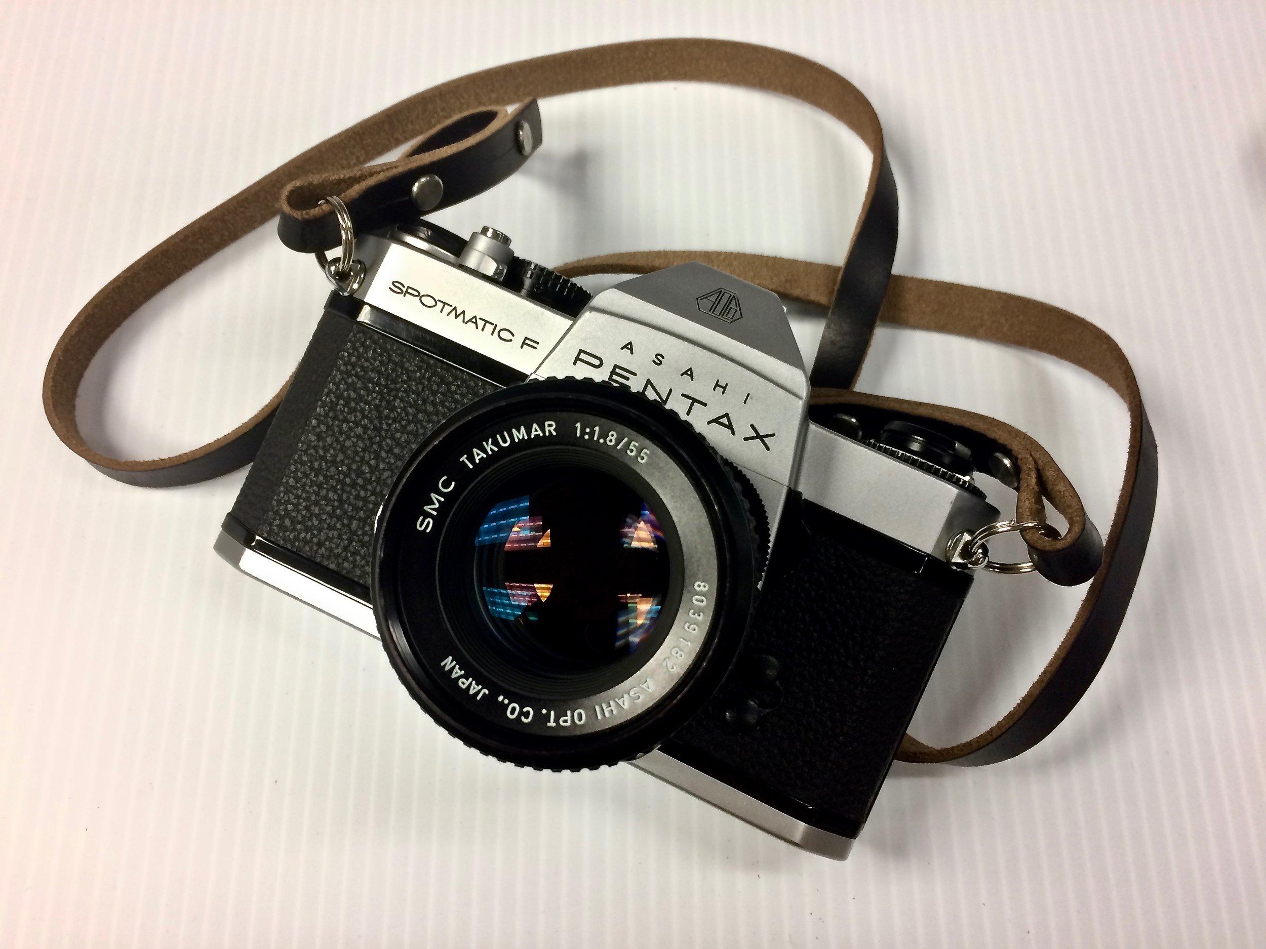 Pentax Spotmatic F with SMC Takumar 55mm f/1.8