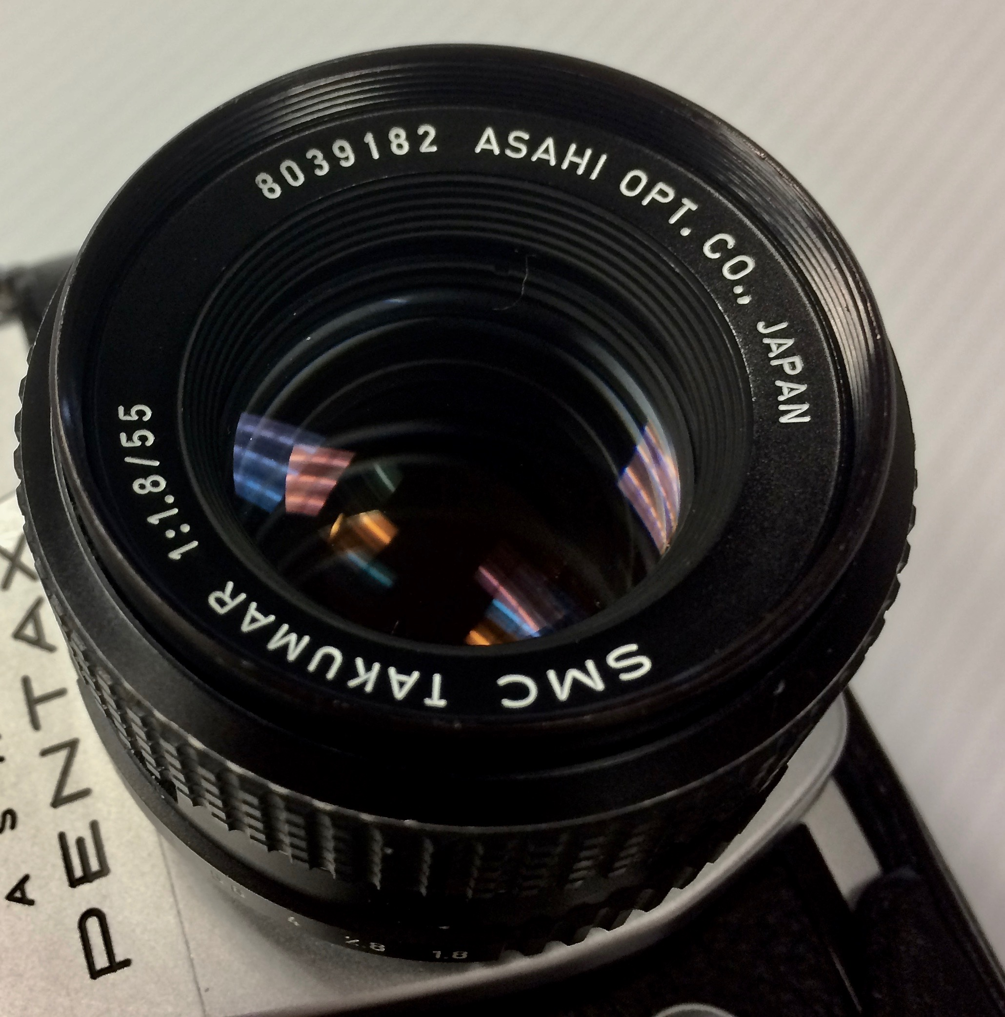 Lens serial number