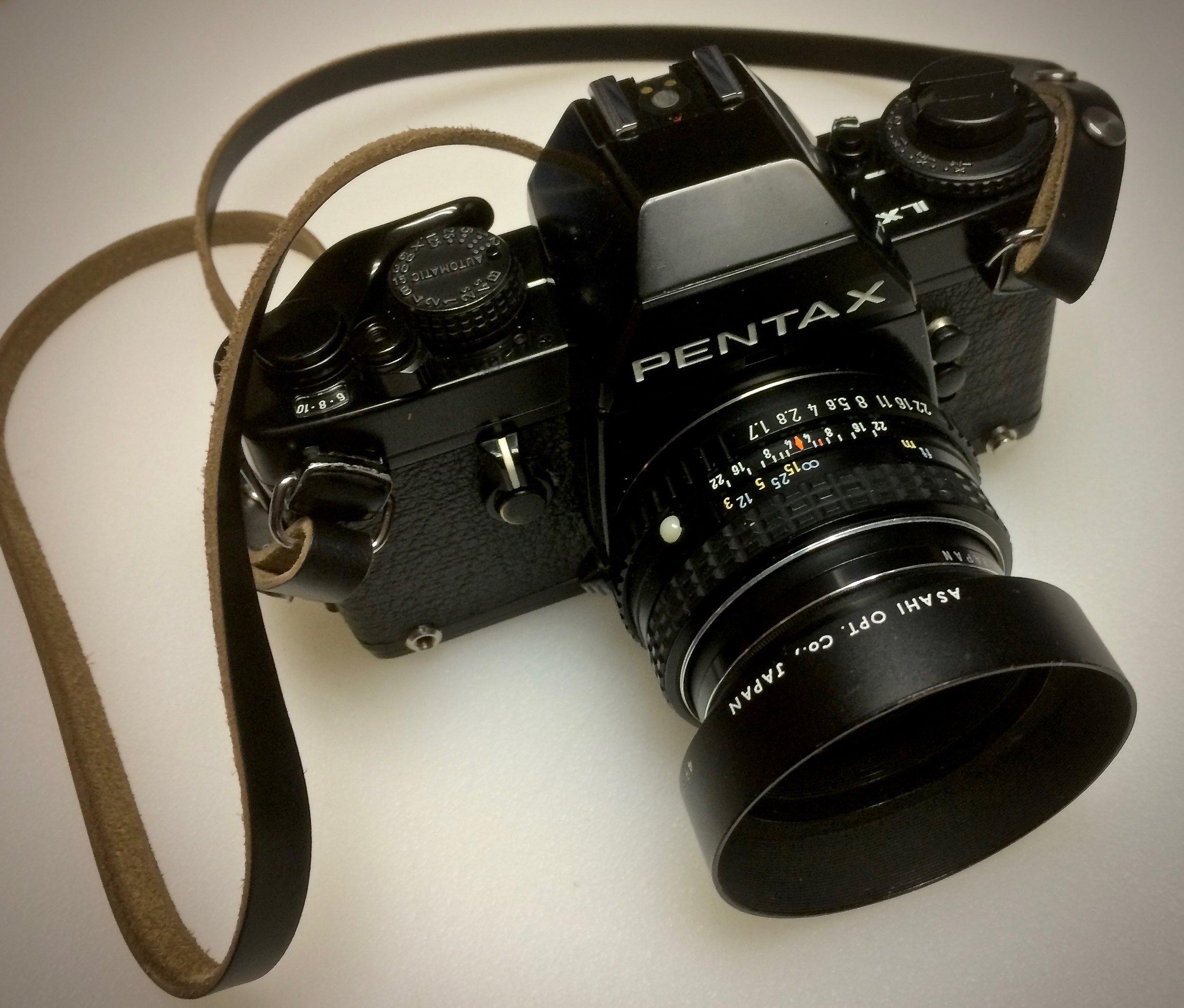 Pentax LX with SMC Pentax-M 50mm f/1.7
