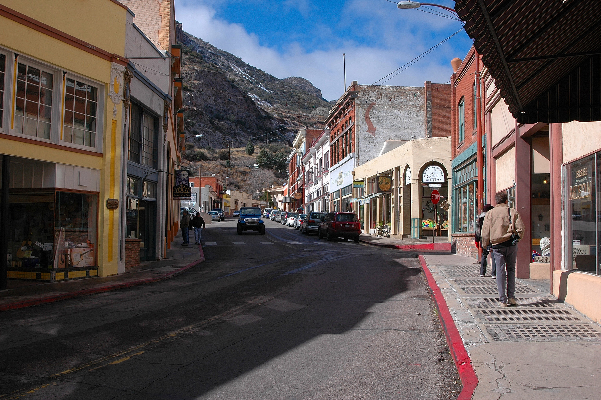 Business District in Bisbee