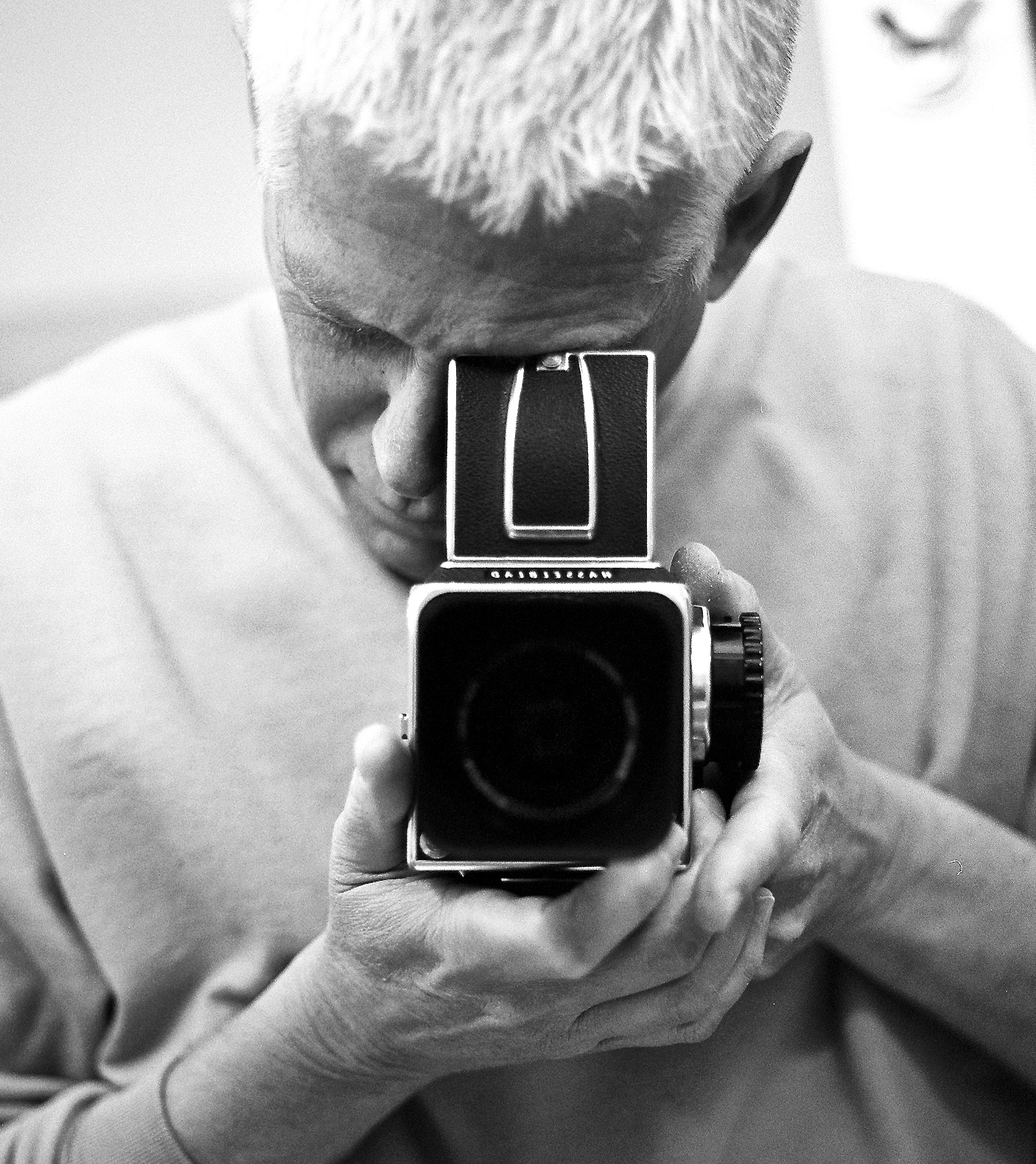 The author with his Hasselblad