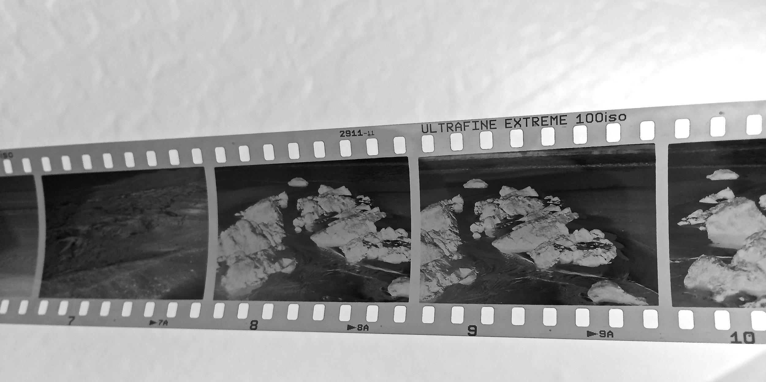 Ultrafine film processed in my kitchen
