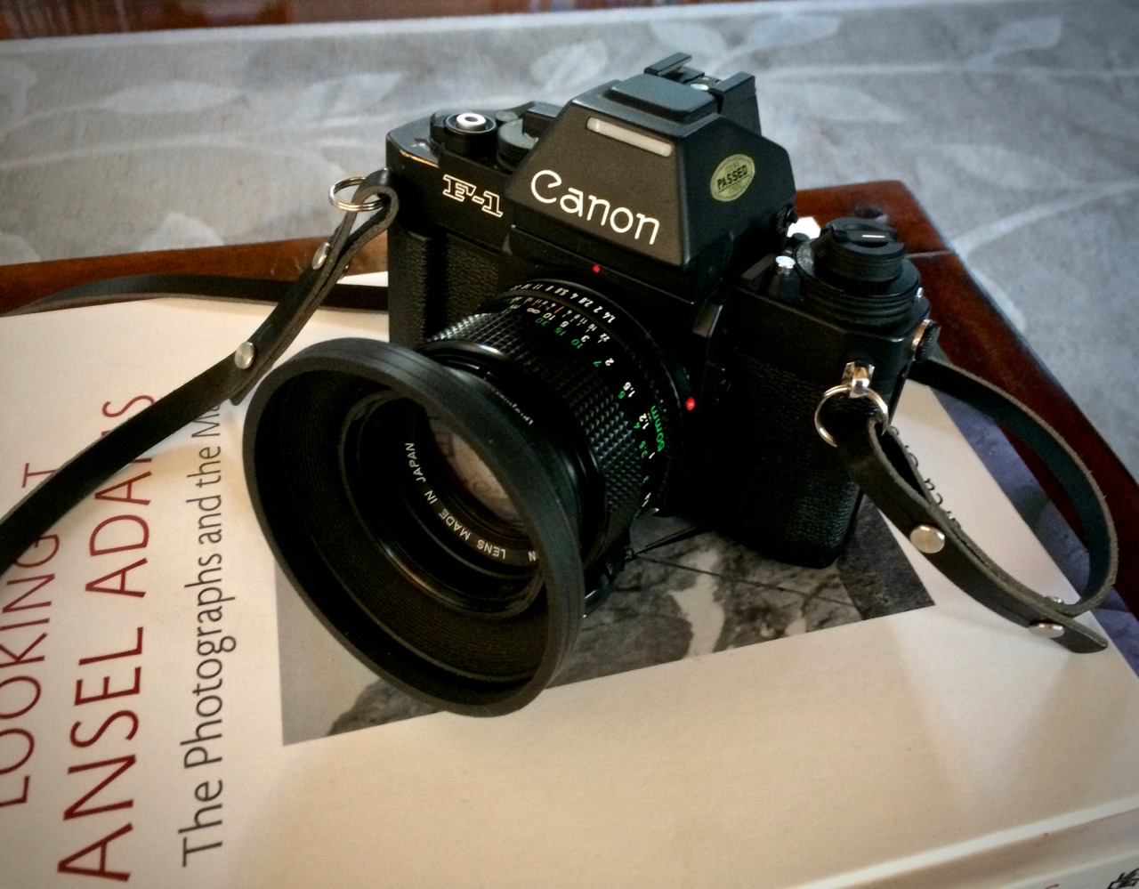 Canon F-1n - Made me a Canon fan!