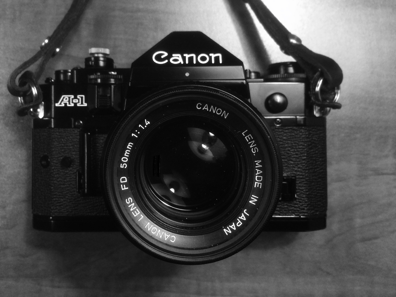 Canon A-1 - Point & Shoot & More!