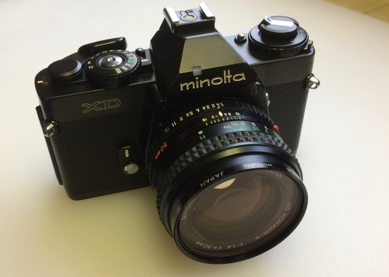Minolta XD - Small package. Lots of features!