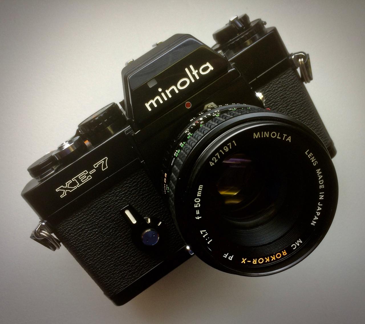 Minolta XE-7 - A Leica in disguise.