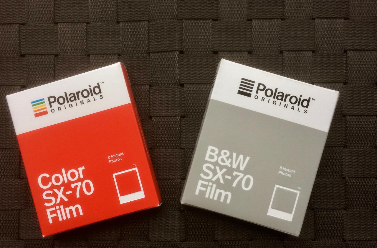 New Film - Polaroid Originals
