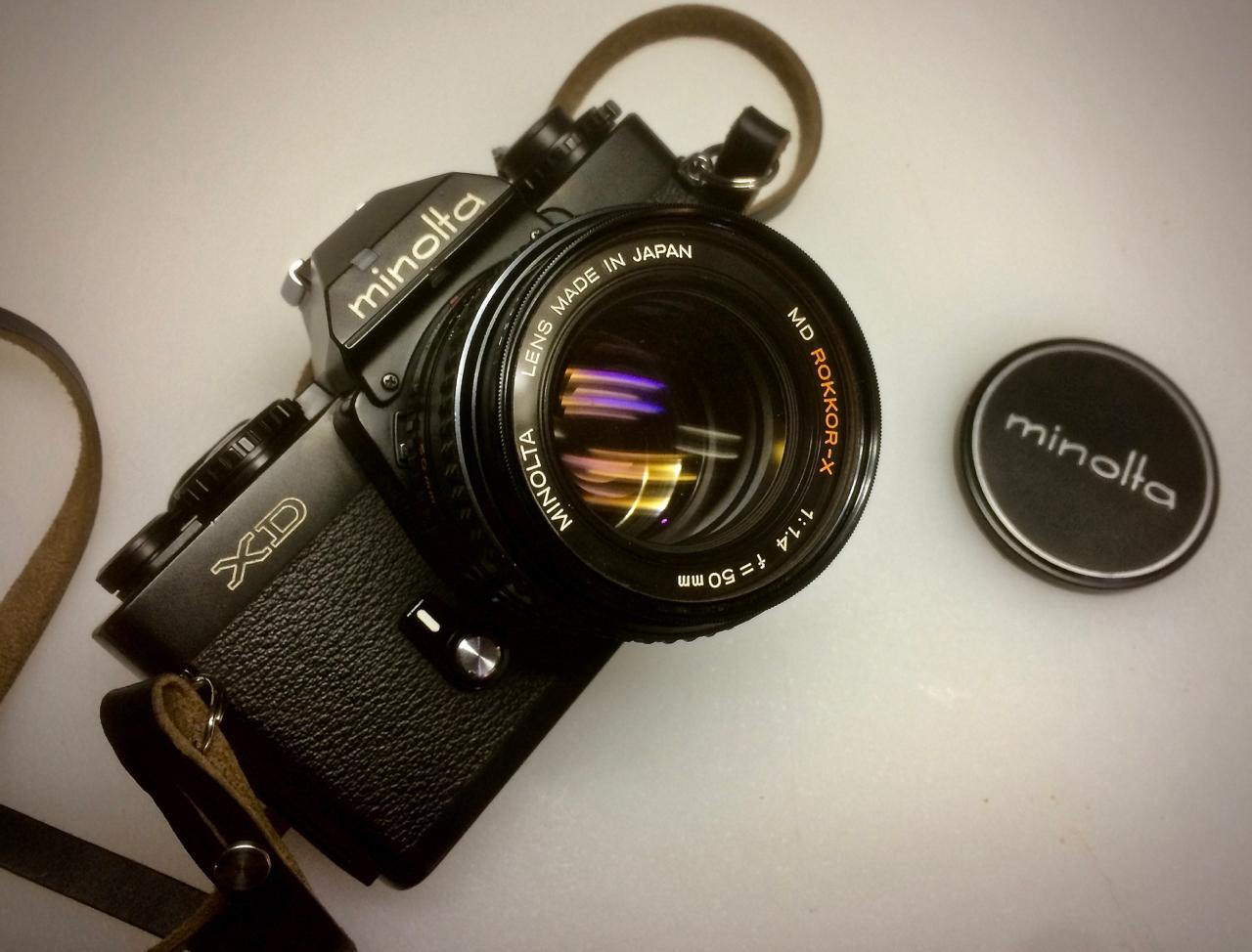 New Years Day Camera: The Minolta XD