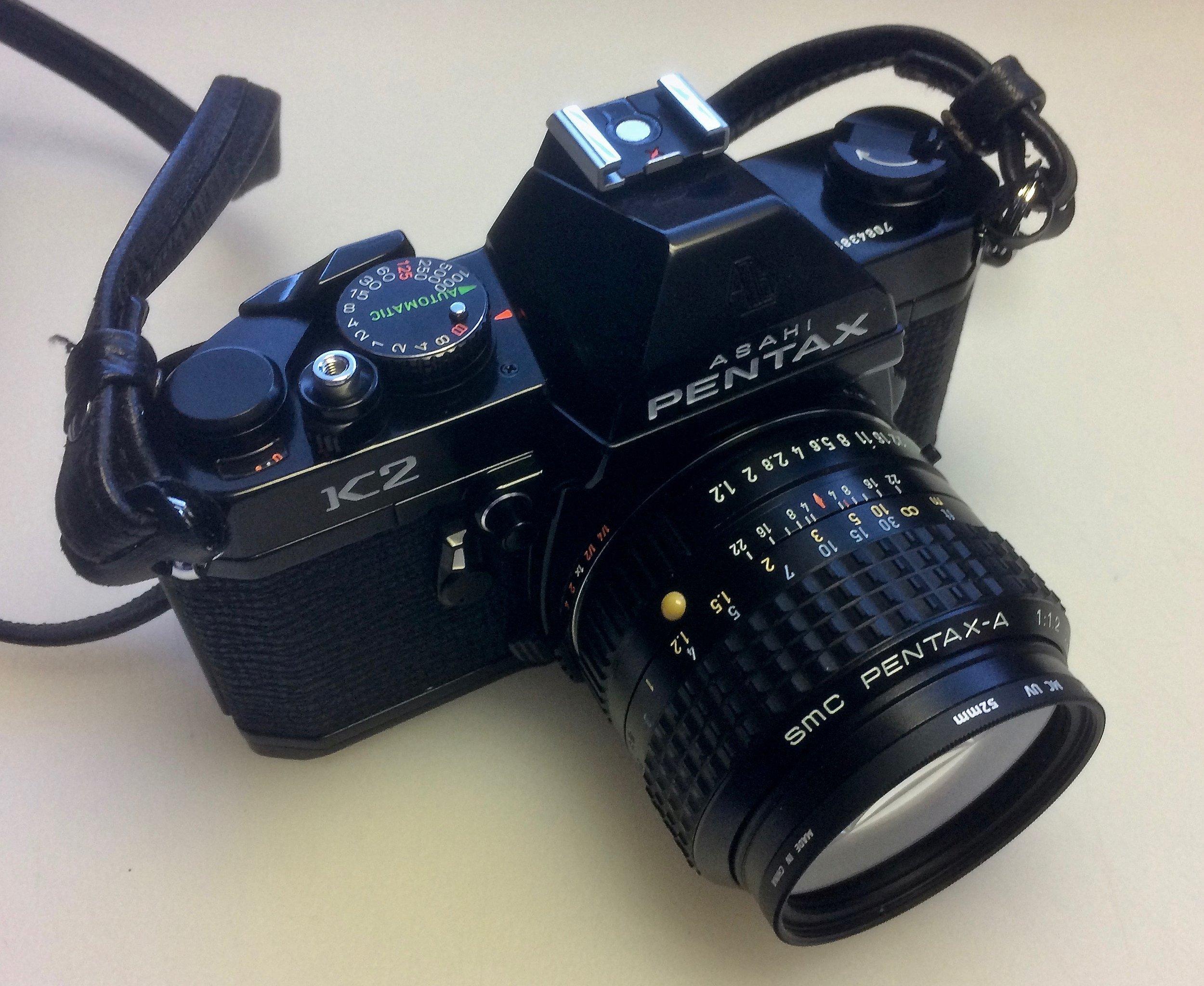 Pentax K2 with SMC Pentax-A 50mm f/1.2