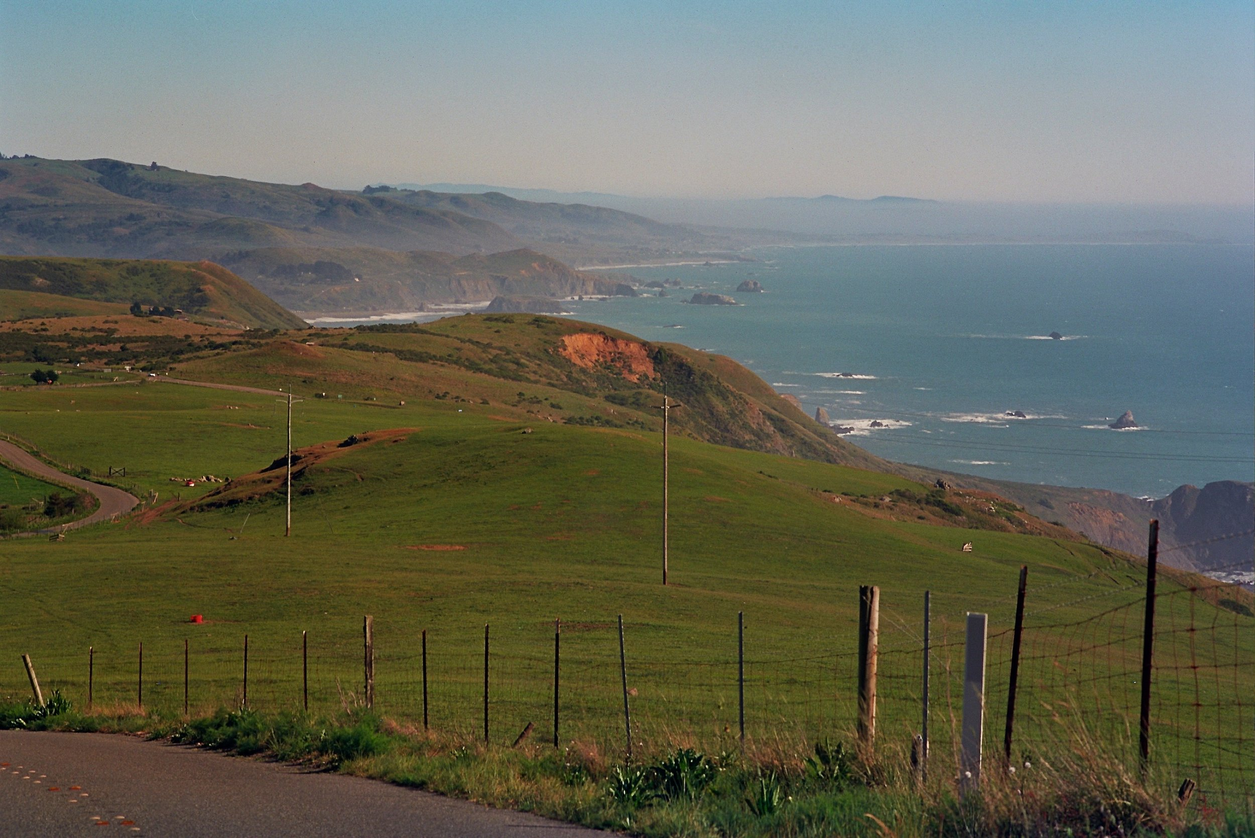 Meyers Grade Road just off of the Pacific Coast Highway on the way to Fort Ross