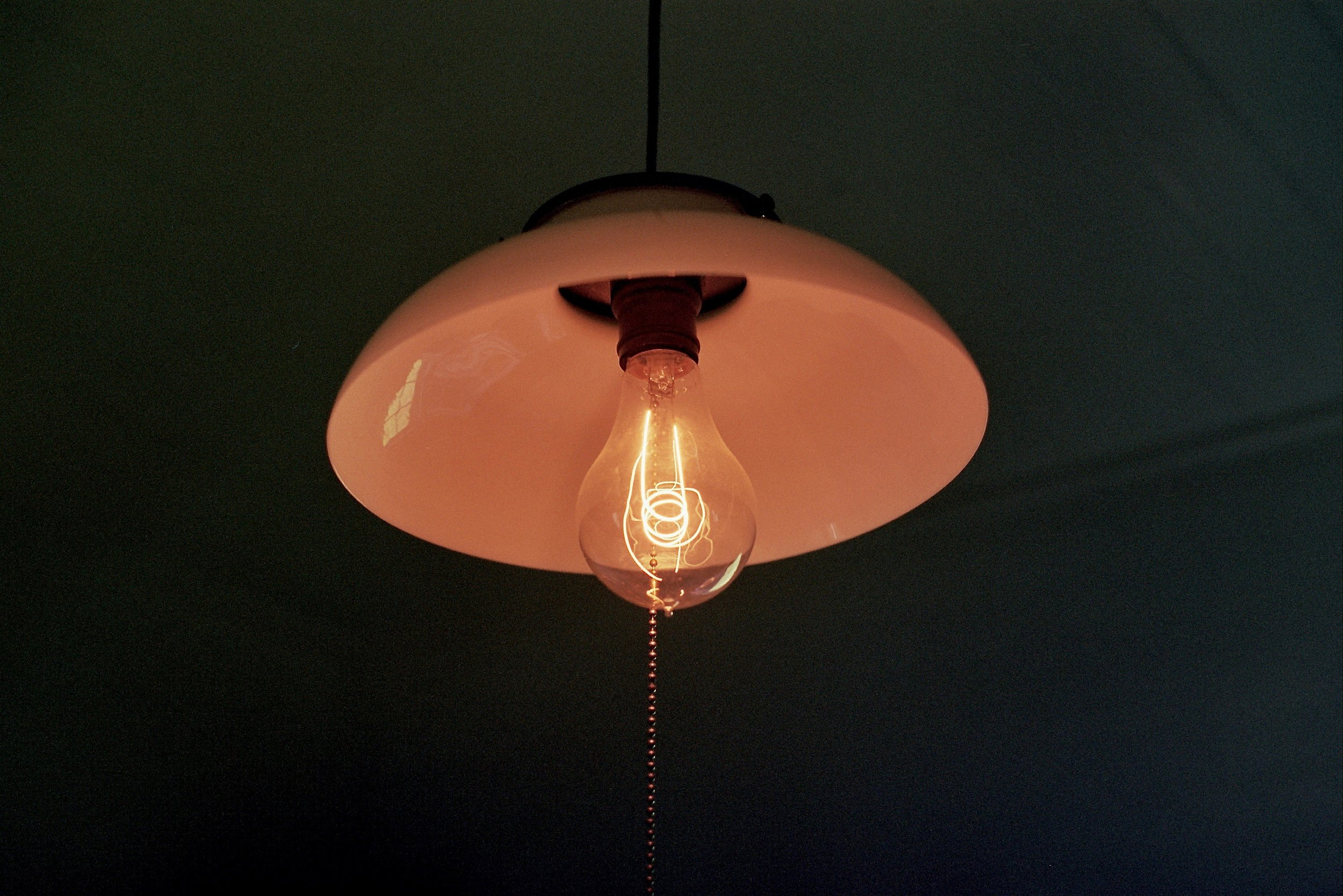 Kitchen lamp in the Call House
