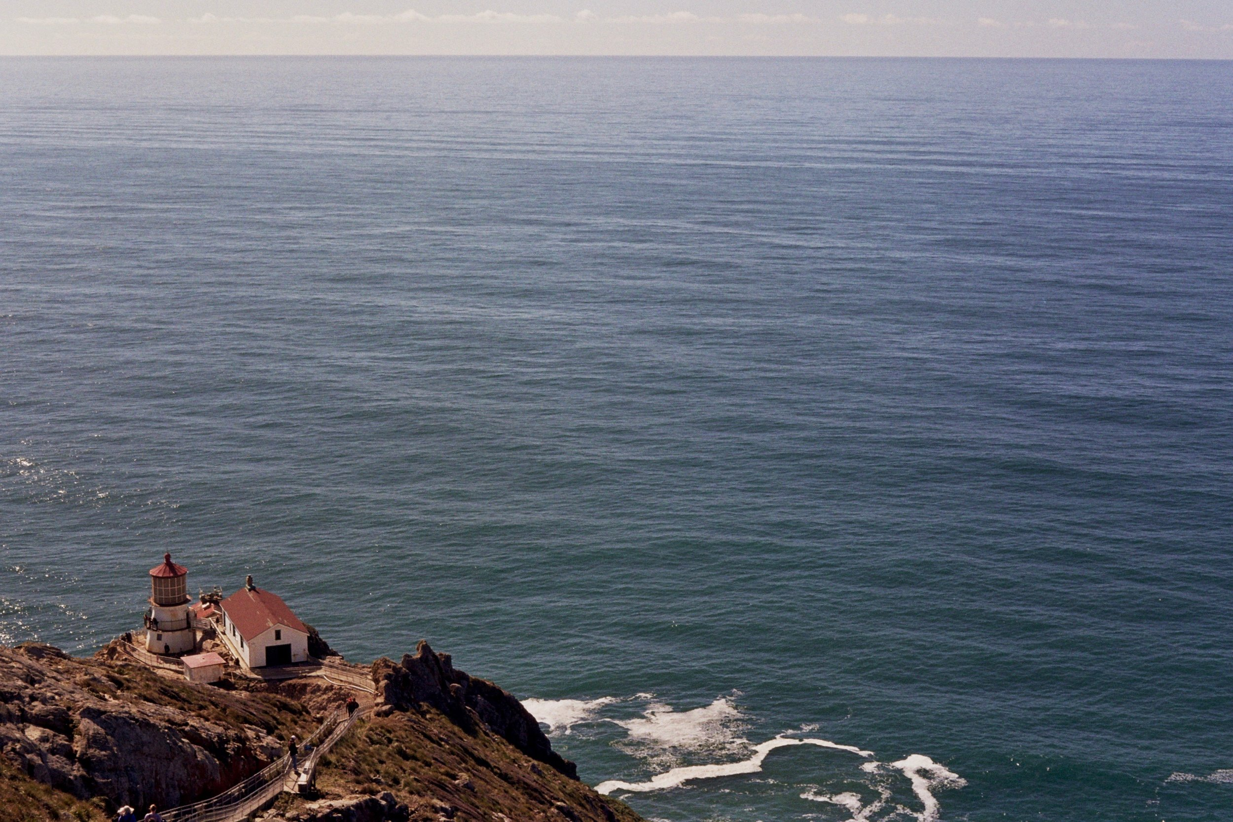 Land's End: The Pt Reyes lighthouse