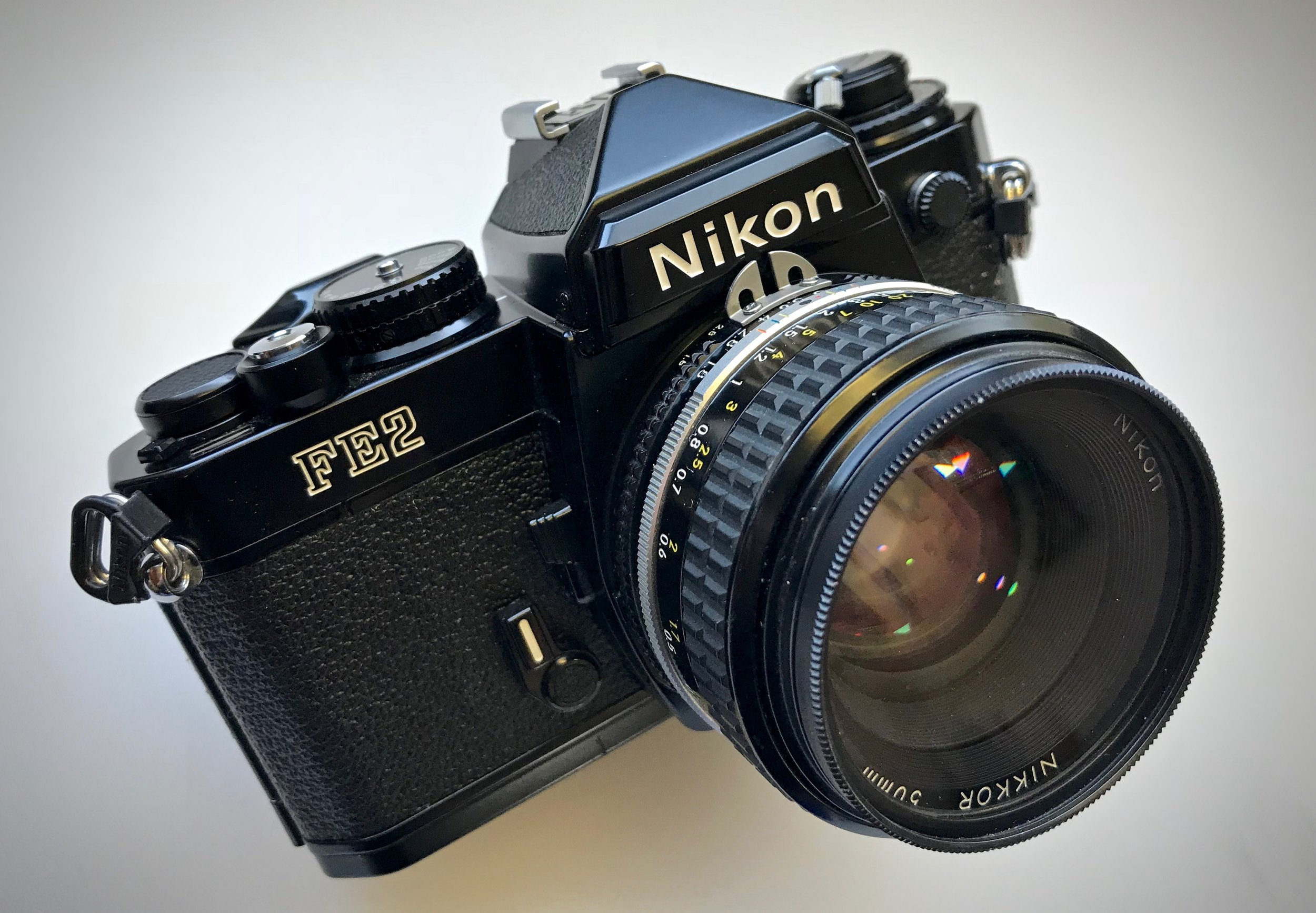 Nikon FE2 with 50mm f/1.8 Nikkor lens
