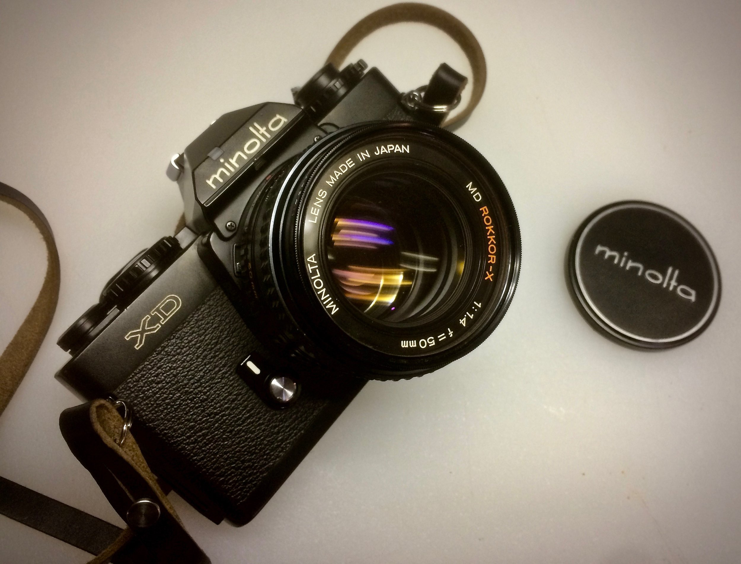Minolta XD with 50/1.4 MD Rokkor-X lens