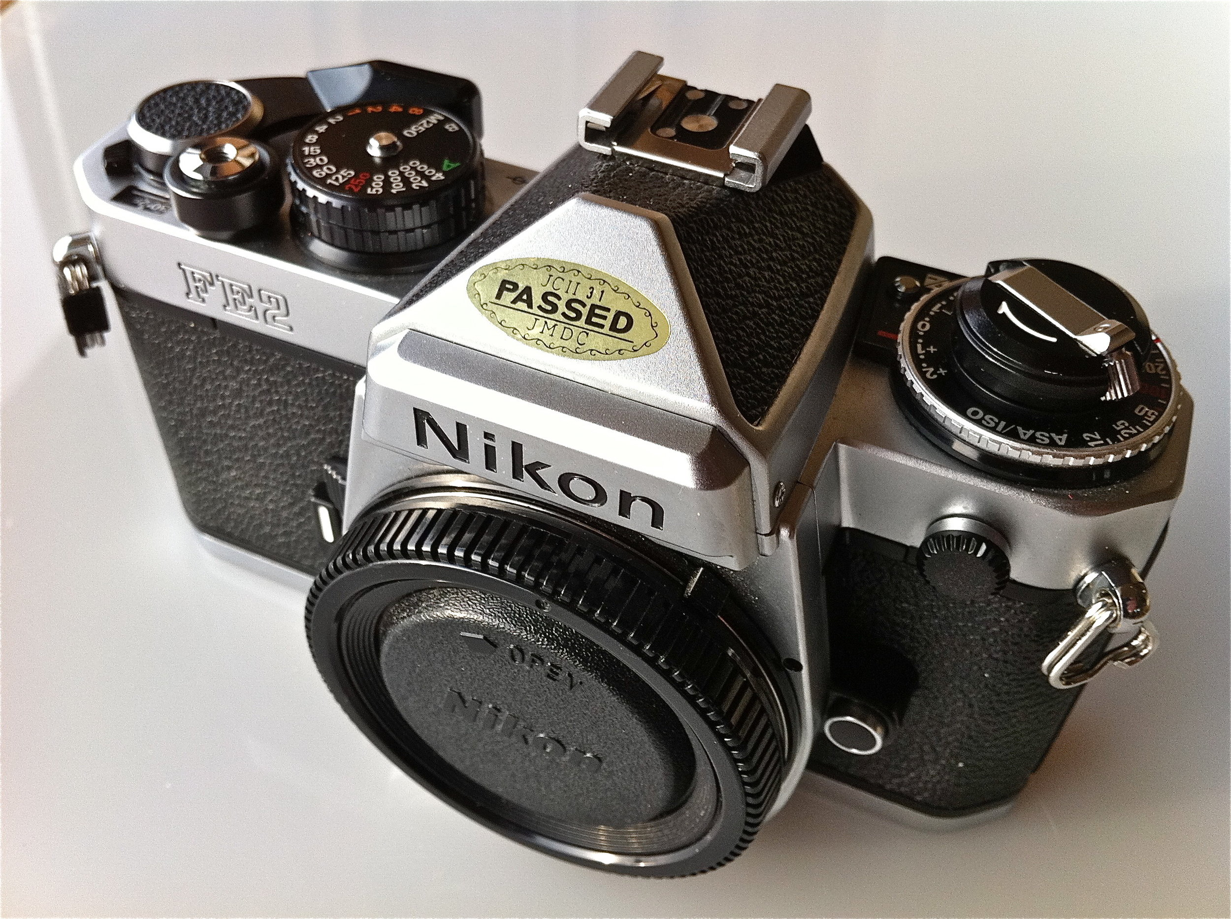 The camera that started it all…The Nikon FE2