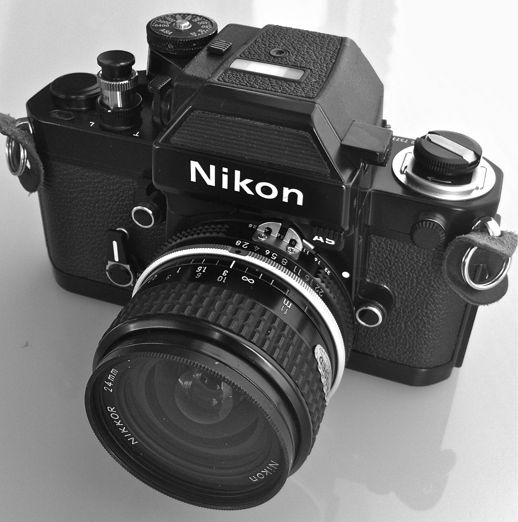 Nikon F2AS Black Body