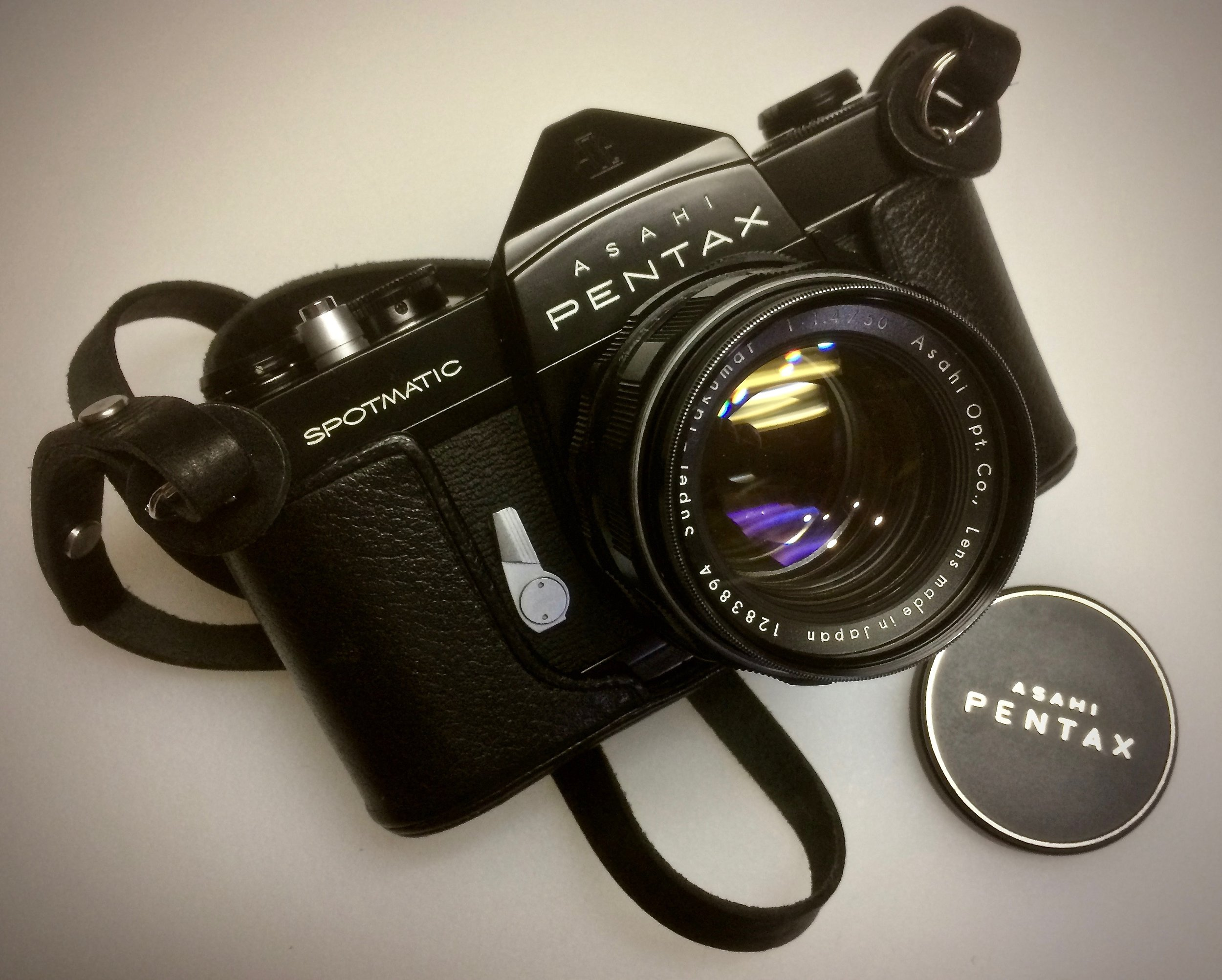 Pentax Spotmatic Black Body SP