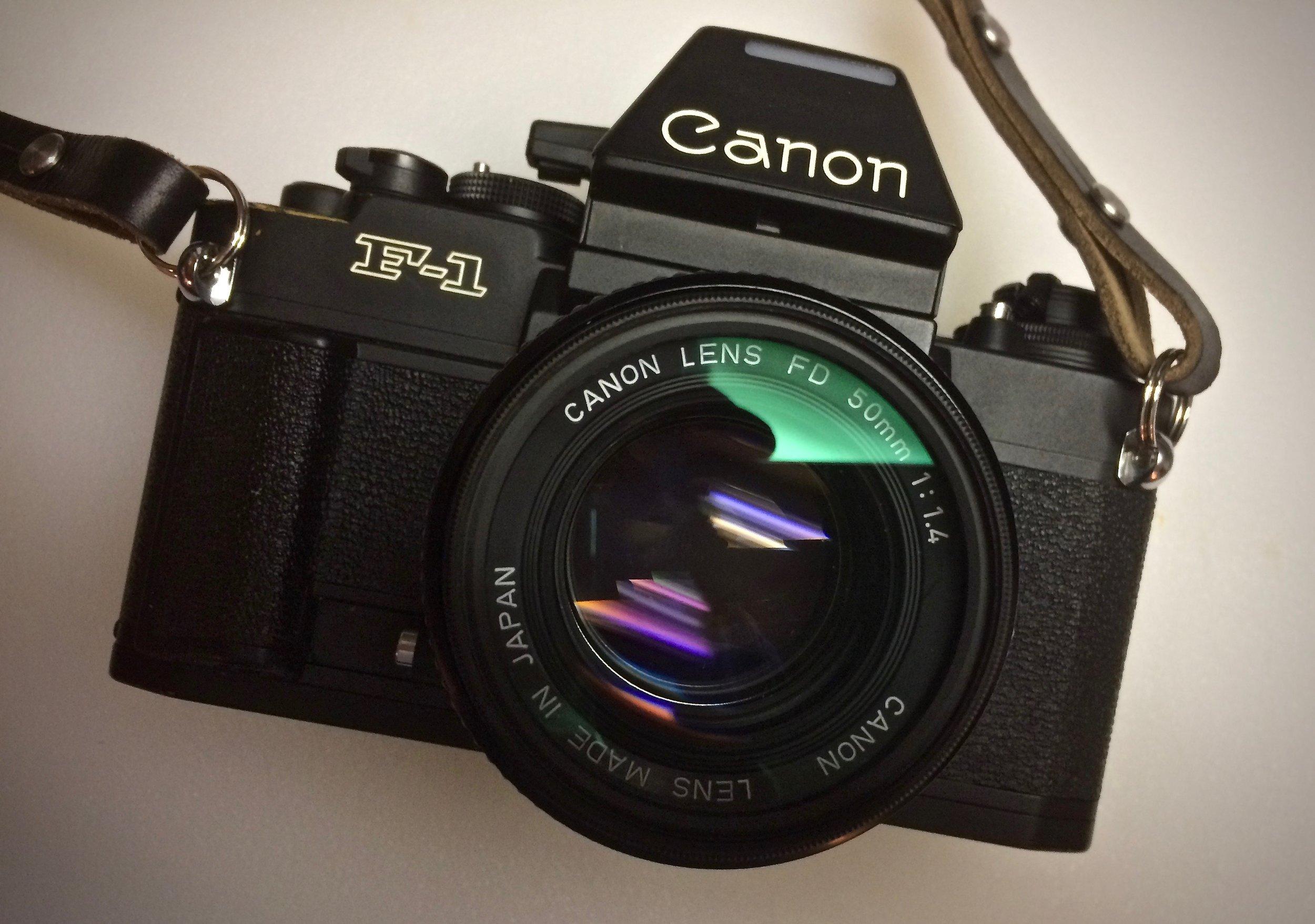 New Canon F-1