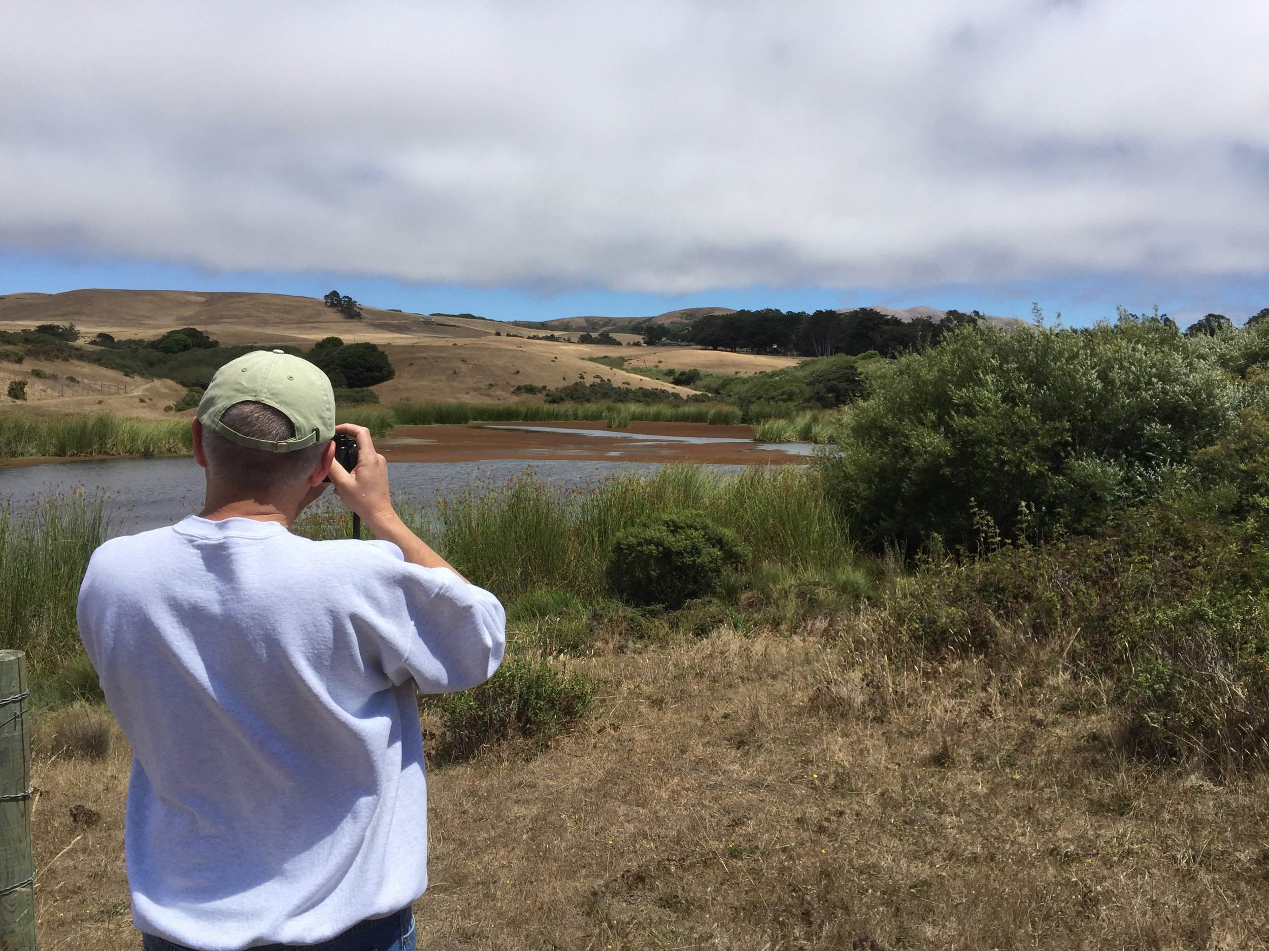 Shooting film in Marin County near Pt. Reyes Station
