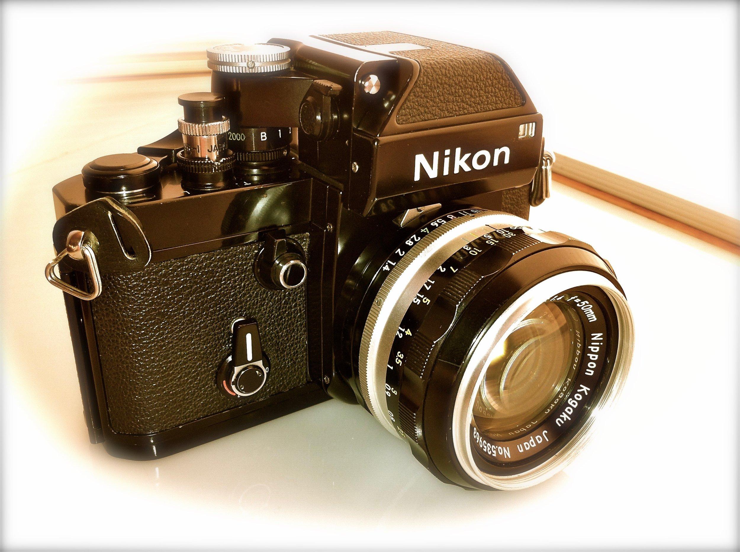 Nikon F2 Photomic 50mm pre-Ai Nikkor