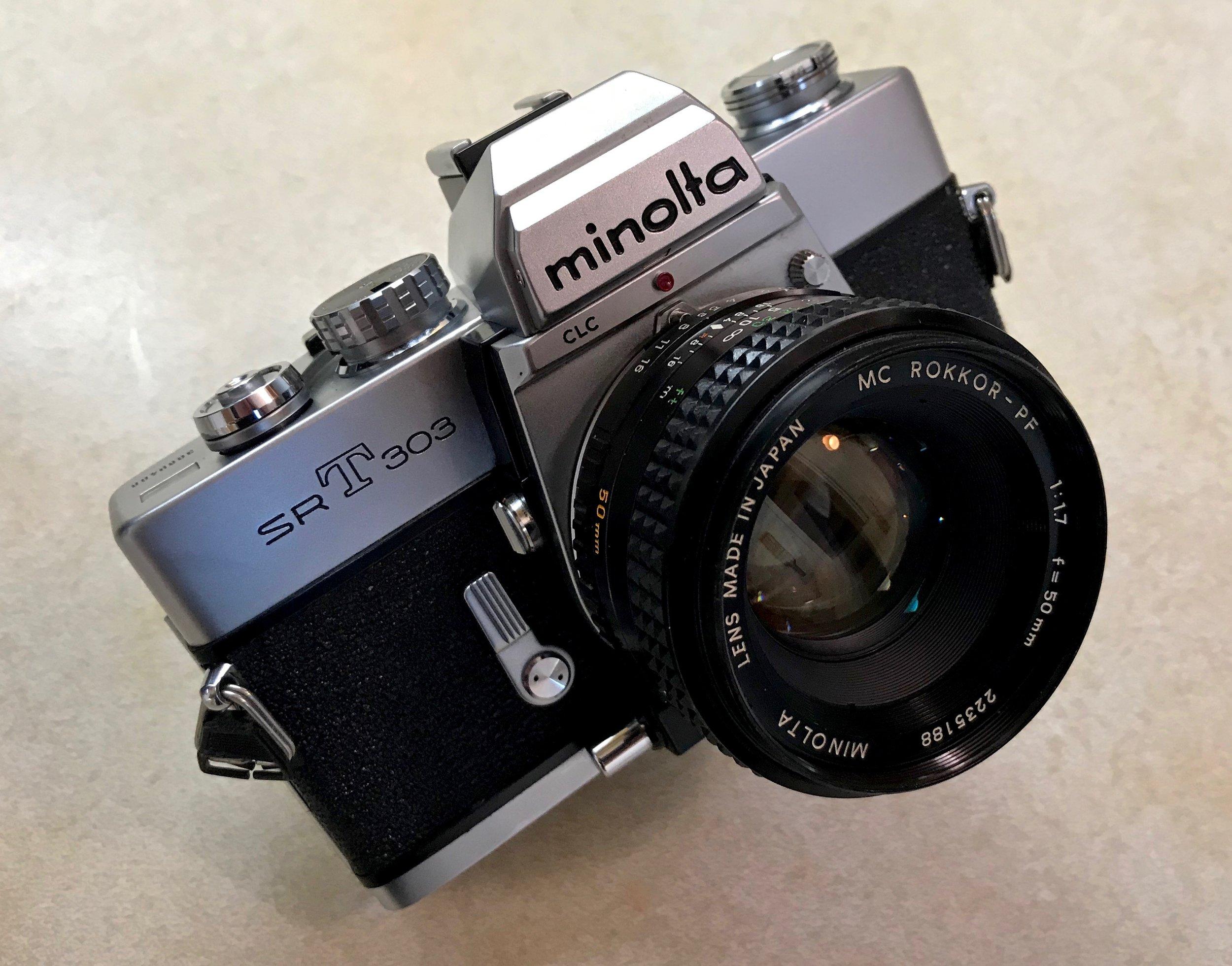 My Minolta SRT303
