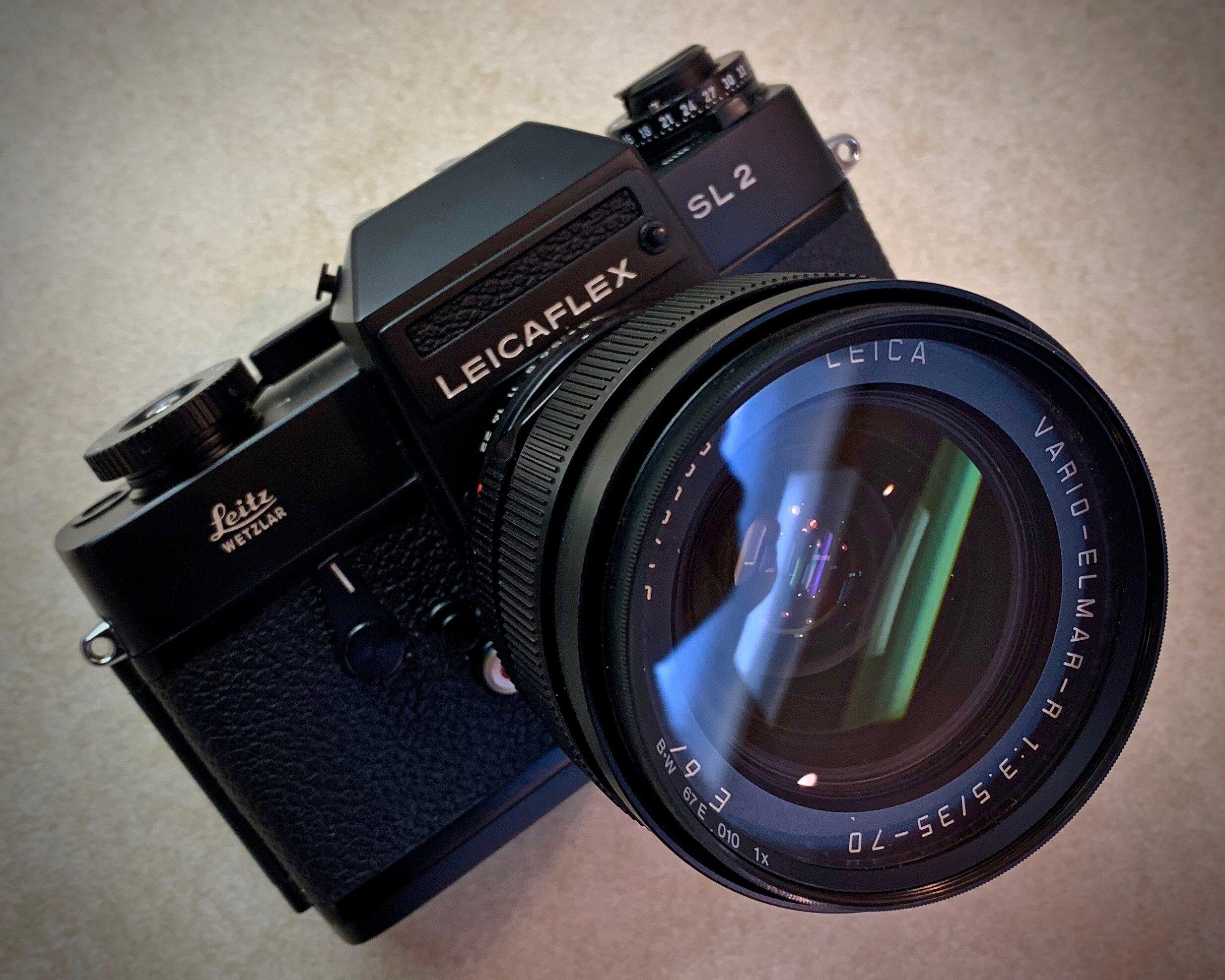 Leicaflex SL2 with 35-70 f/3.5 Vario-Elmar-R