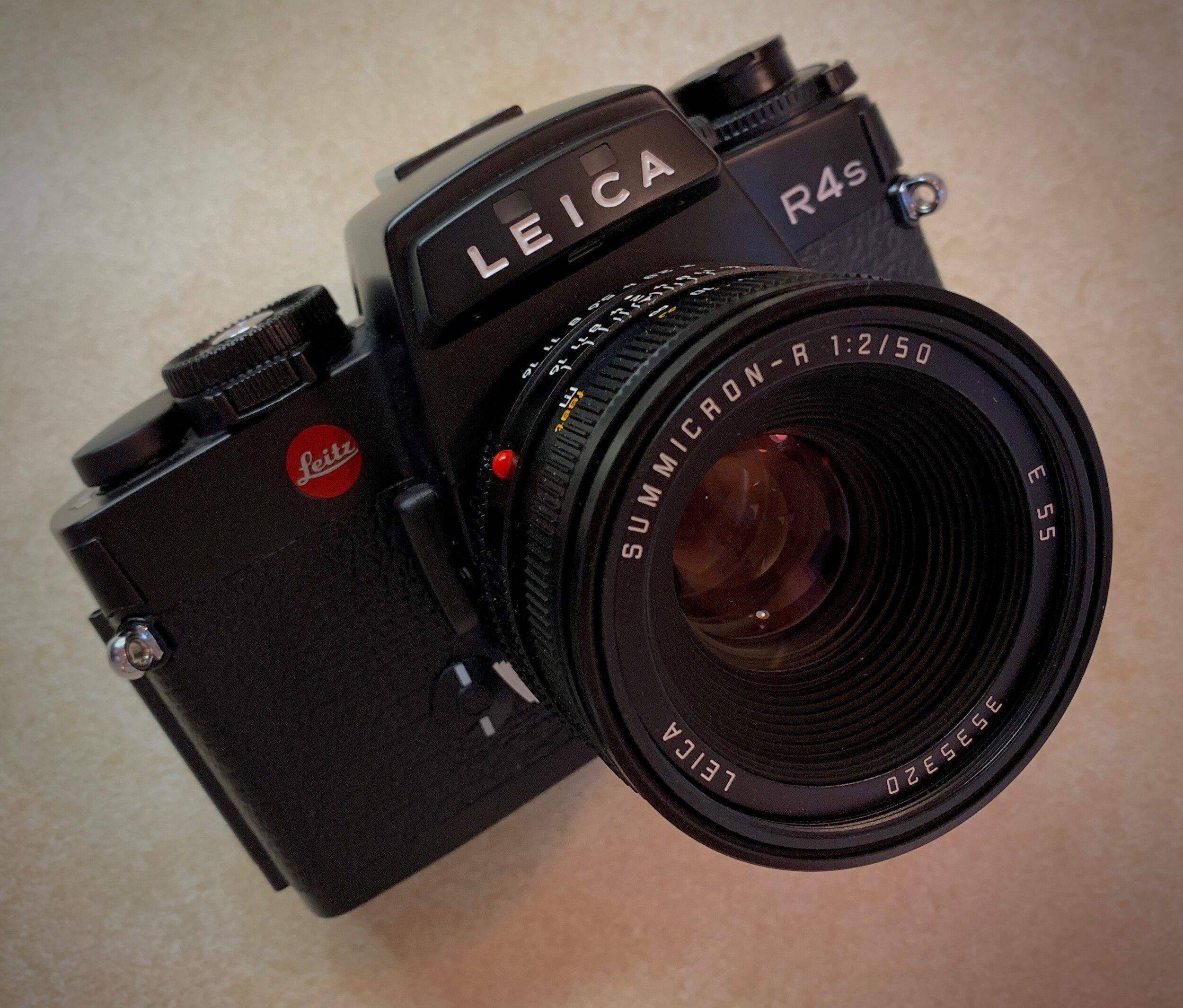 Leica R4s MOD-P with 50 Summicron