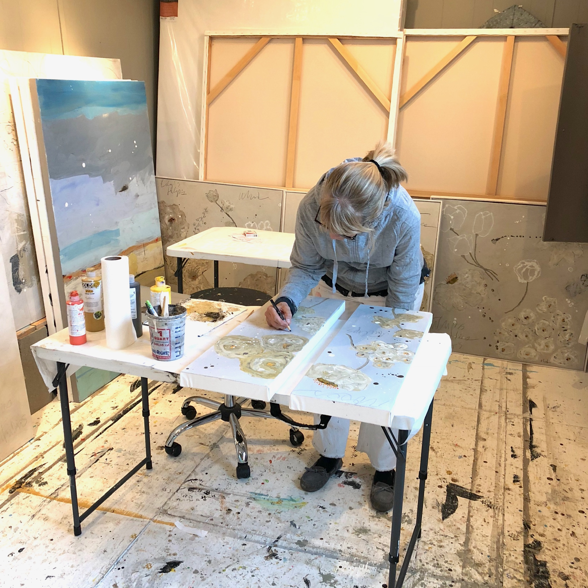 Adele in Studio