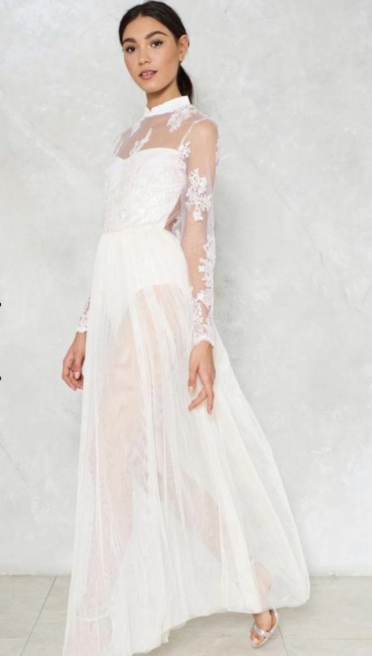 Guest of Honor Mesh Dress - $90