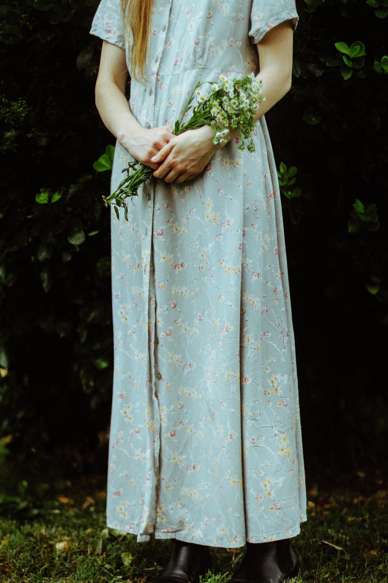 Vintage 90s Dress: $3.00