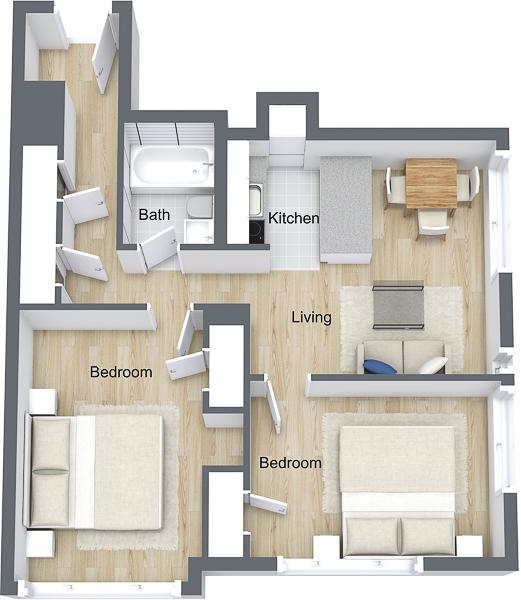 The Pinnacle - Chancellor - 3D Floor Plan.jpg