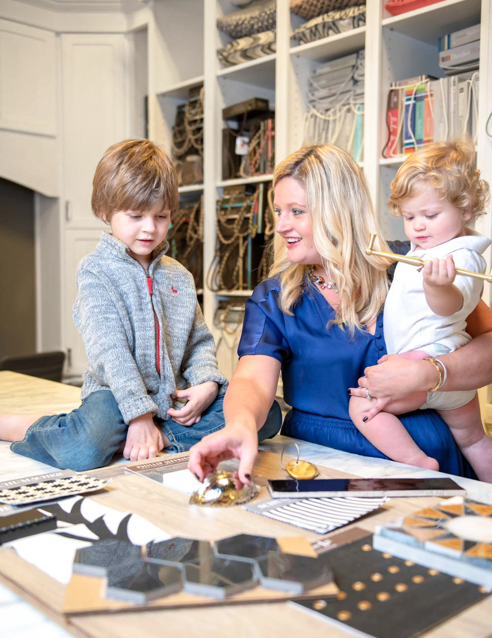 Being an interior designer means I have so many options at my finger tips ready to be used but it can be overwhelming. Thankfully, being a mom means that some options aren't as practical as others. Finding elements with style and functionality is always my go-to when designing for my family and others.