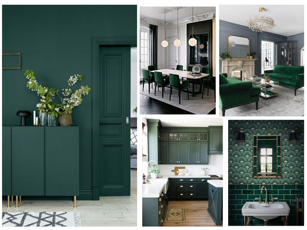 Gorgeous interiors from around the web.