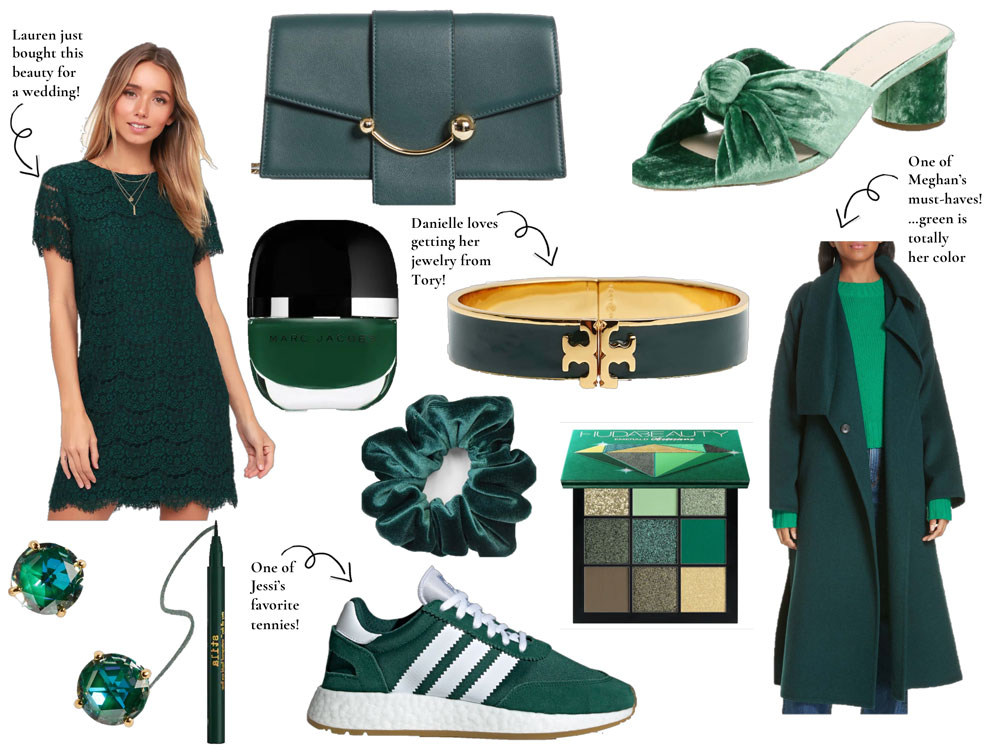 Emerald green is one of those universal colors that looks good on almost anyone.