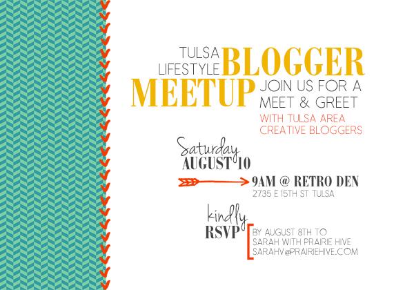 blogger meetup invite