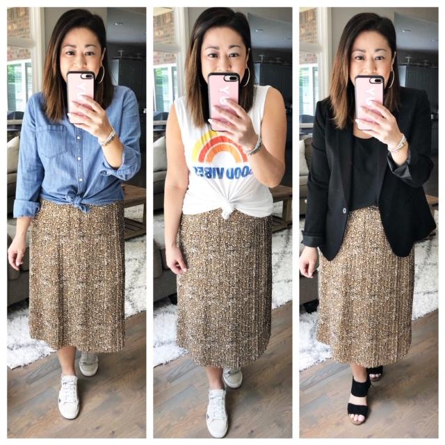97ac7b76ab 3 Ways To Style a Leopard Midi Skirt — Hey Thuy