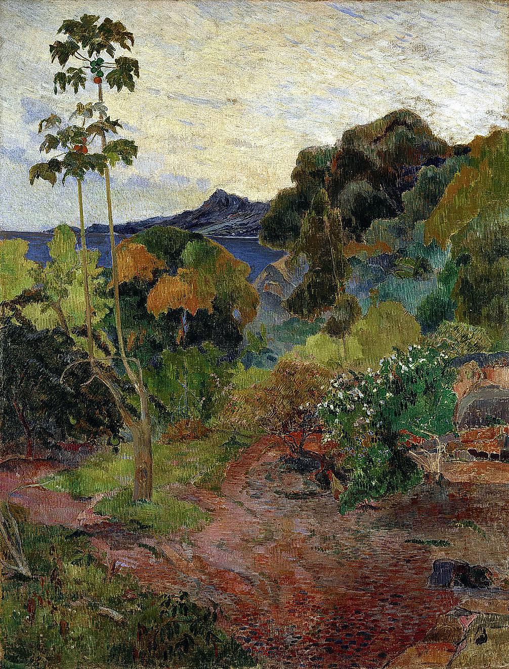Martinique Landscape 1887 Paul Gauguin