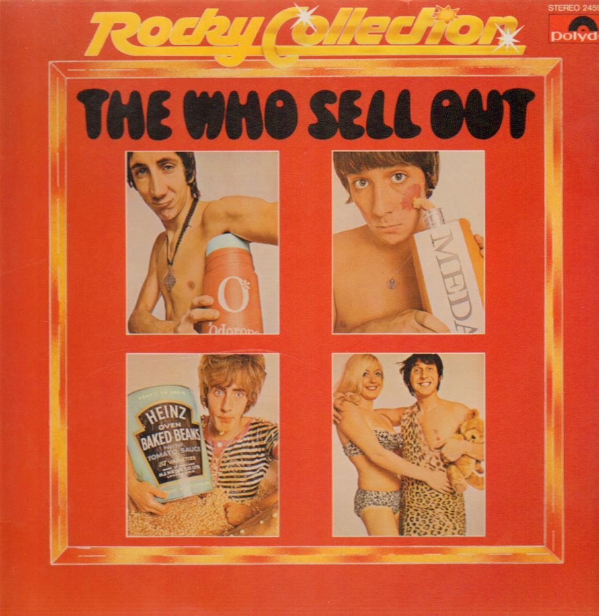 The Who Sell Out Cover