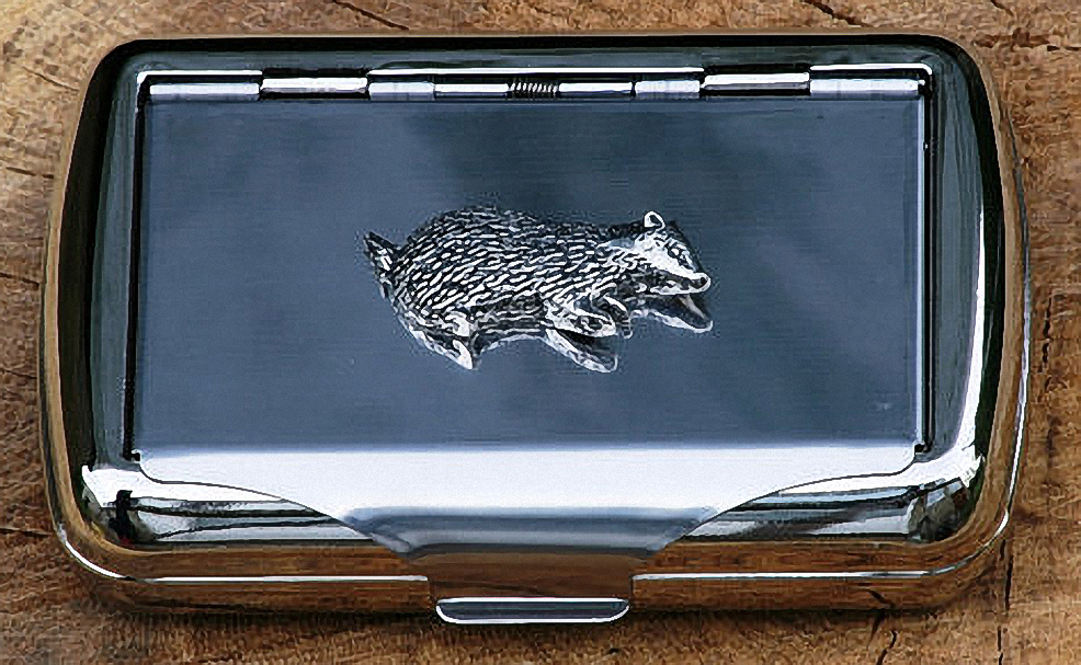 Figure 1 - The Badger Cigarette Case