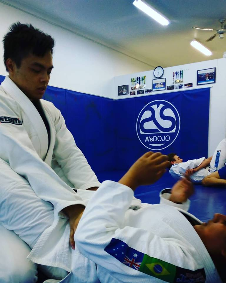 What would be your advice to anyone looking at starting Martial Arts training? - It'll be hard at first but just keep turning up and having fun.