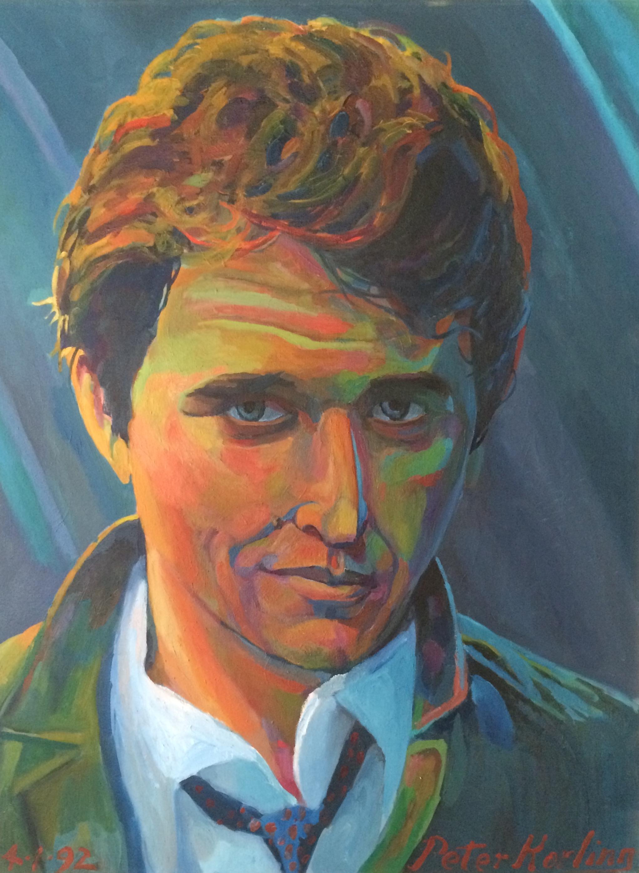 Tom Berenger  30x40 oil on canvas
