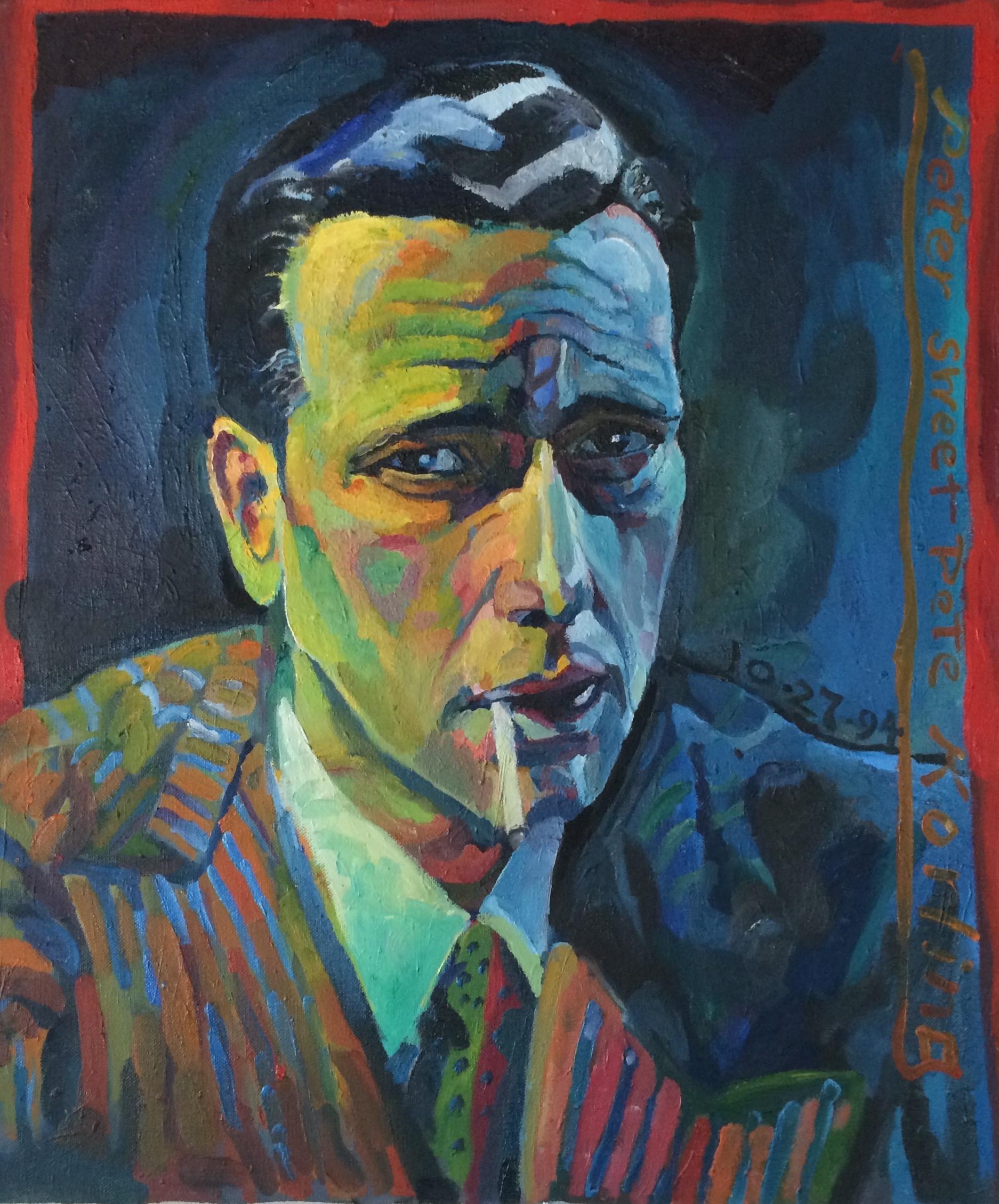 Humphrey Bogart  20x24 oil on canvas
