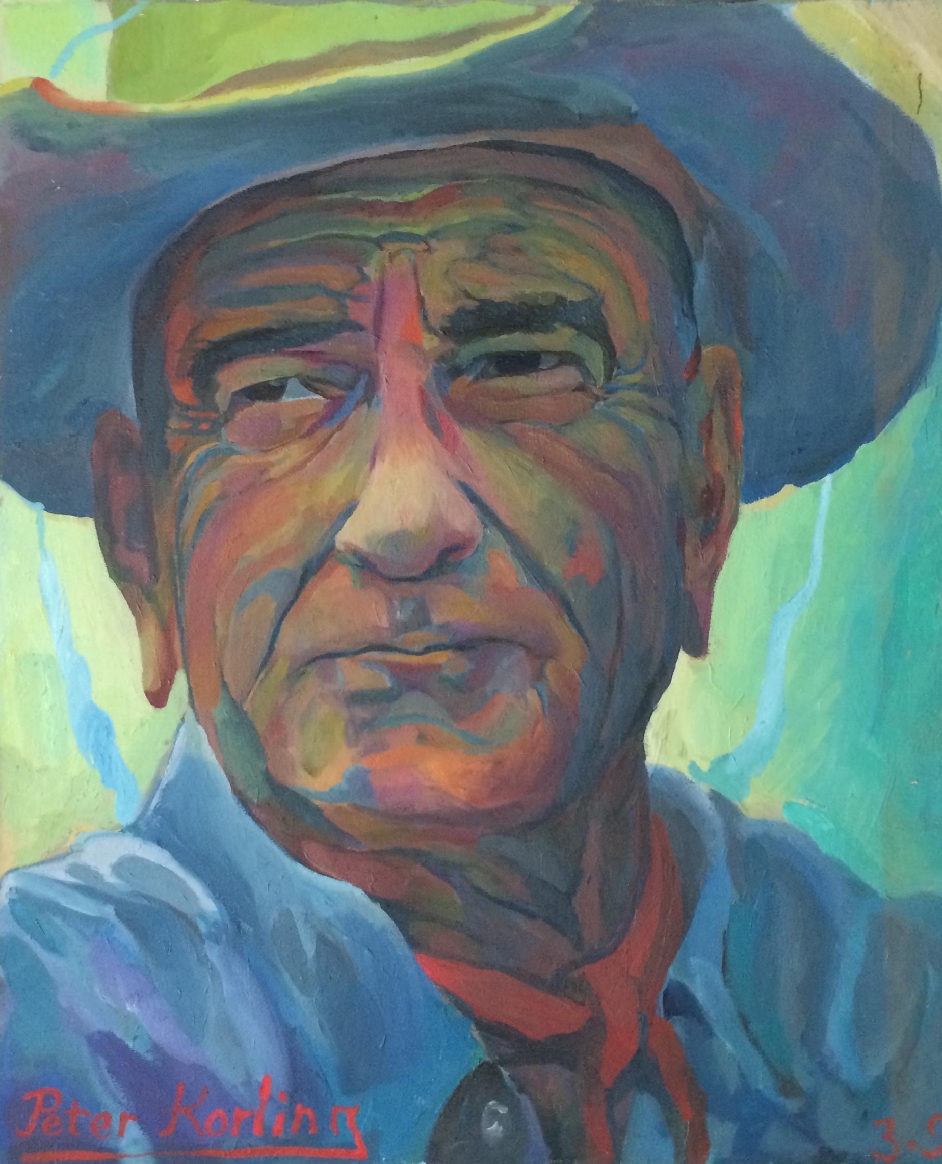 Lyndon Johnson  20x24 oil on canvas