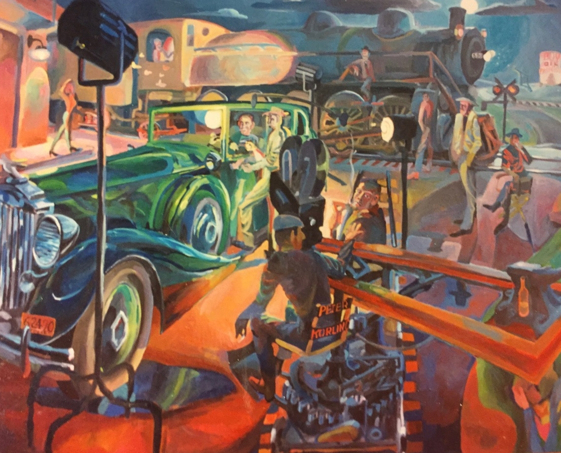 Motion Picture  48x60 oil on canvas