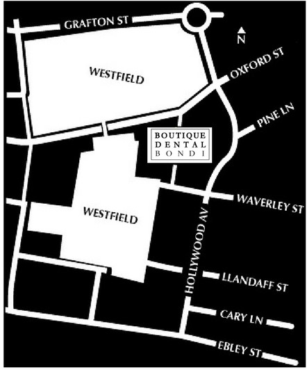 Boutique Dental Bondi Map Bondi Junction Westfield