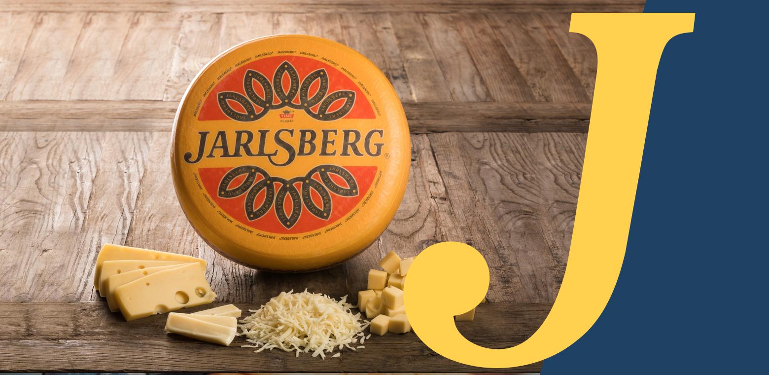 Jarlsberg marketing campaign 2018