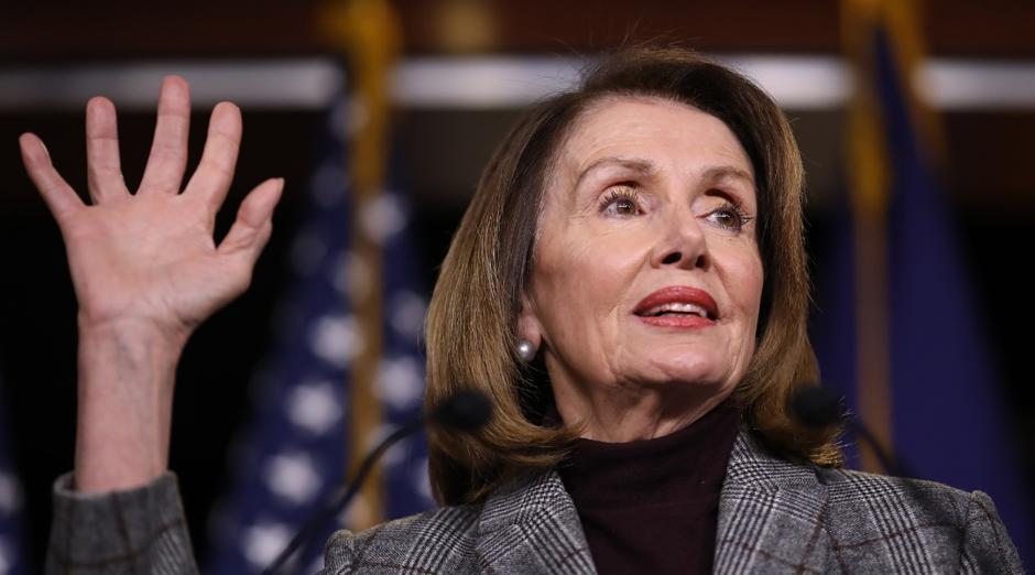 The House Speaker, Nancy Pelosi